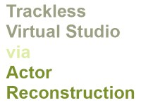Call for Submissions - JVRB Special Issue: Trackless virtual studio via actor reconstruction