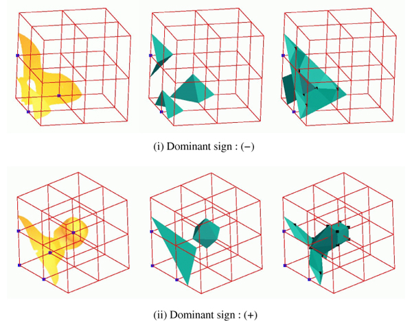 Topologically Accurate Dual Isosurfacing Using Ray